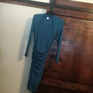 Venus dark turquoise teal dress size S